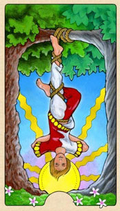 Tarot Compatibility Hanged Man