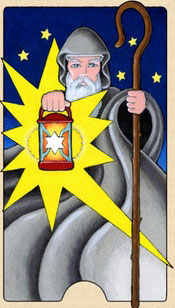 The Hermit - Tarot Birth Cards