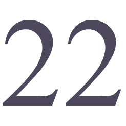 Numerology Meaning Number 22
