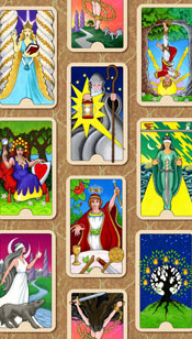The Tower - Tarot Birth Cards