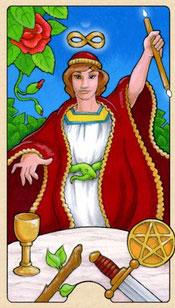Resultado de imagem para magician tarot